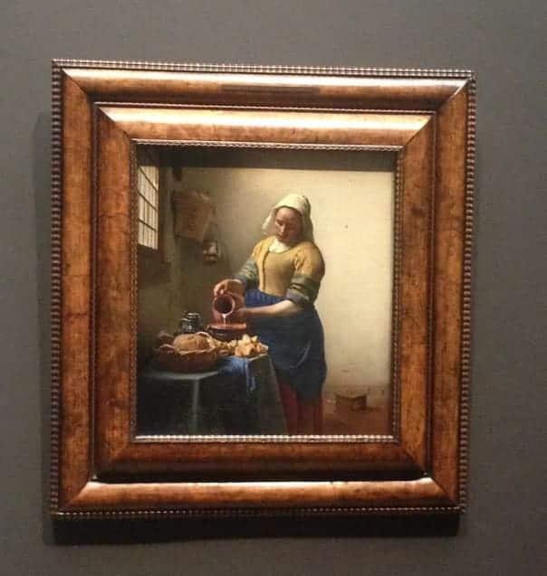 Rijksmuseum Vermeer milkmaid