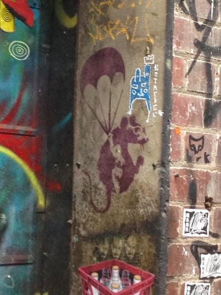 mouse street art melbourne
