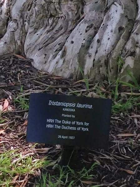 Royal Botanic Gardens Melbourne duke of york