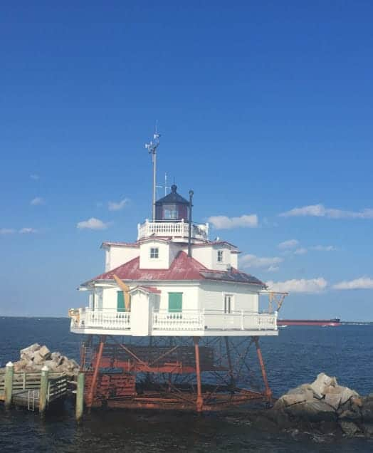 thomas point lighthouse 24 hours in annapolis
