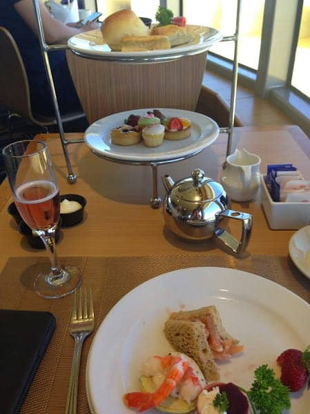 sydney harbor high tea