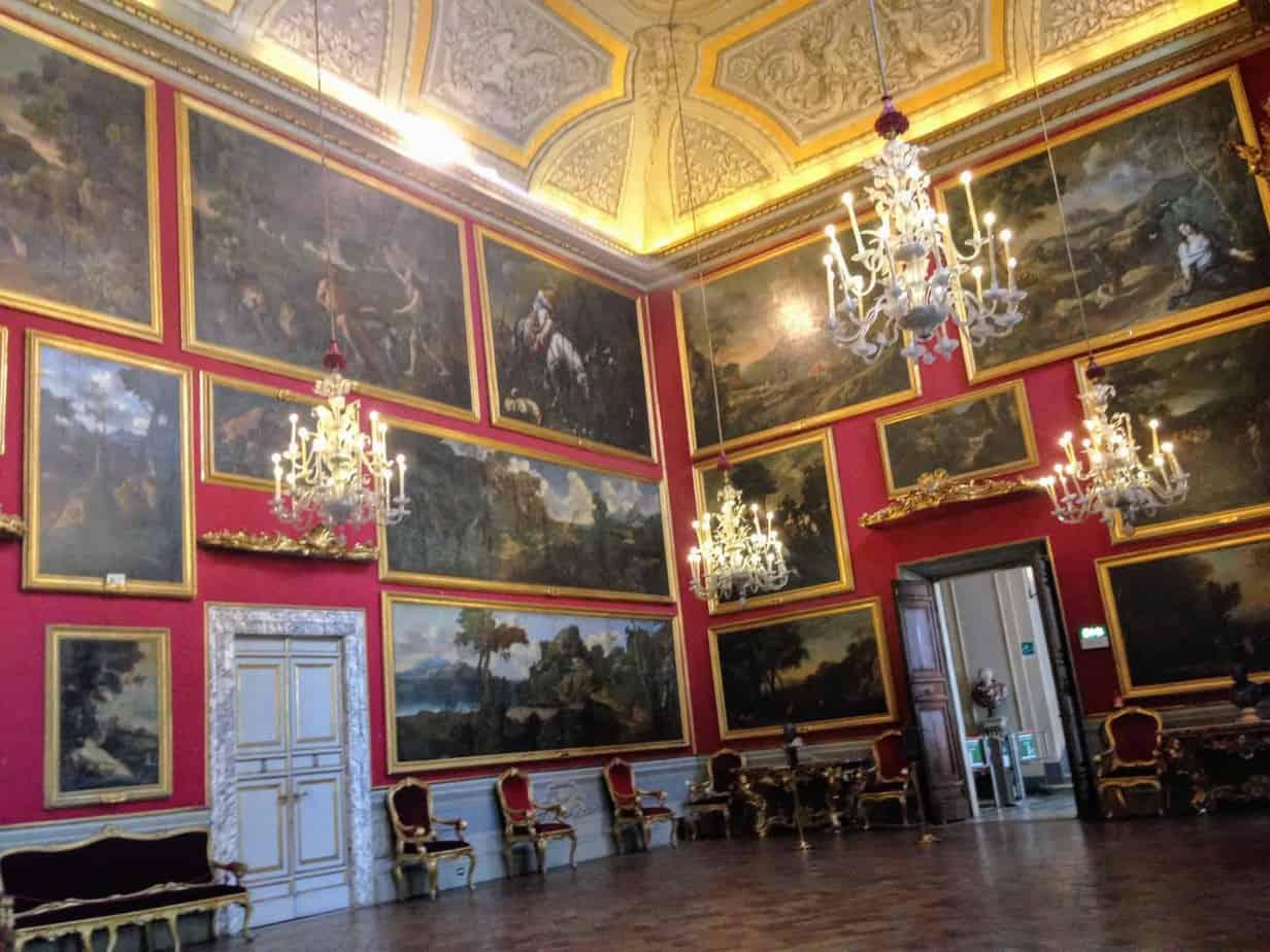 Galleria Doria Pamphilij Interior