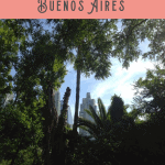 A Perfect Buenos Aires Itinerary 1