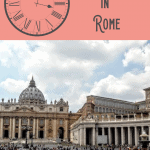 A Perfect One Day in Vatican City Itinerary 5