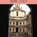 A Perfect Rome Itinerary 1