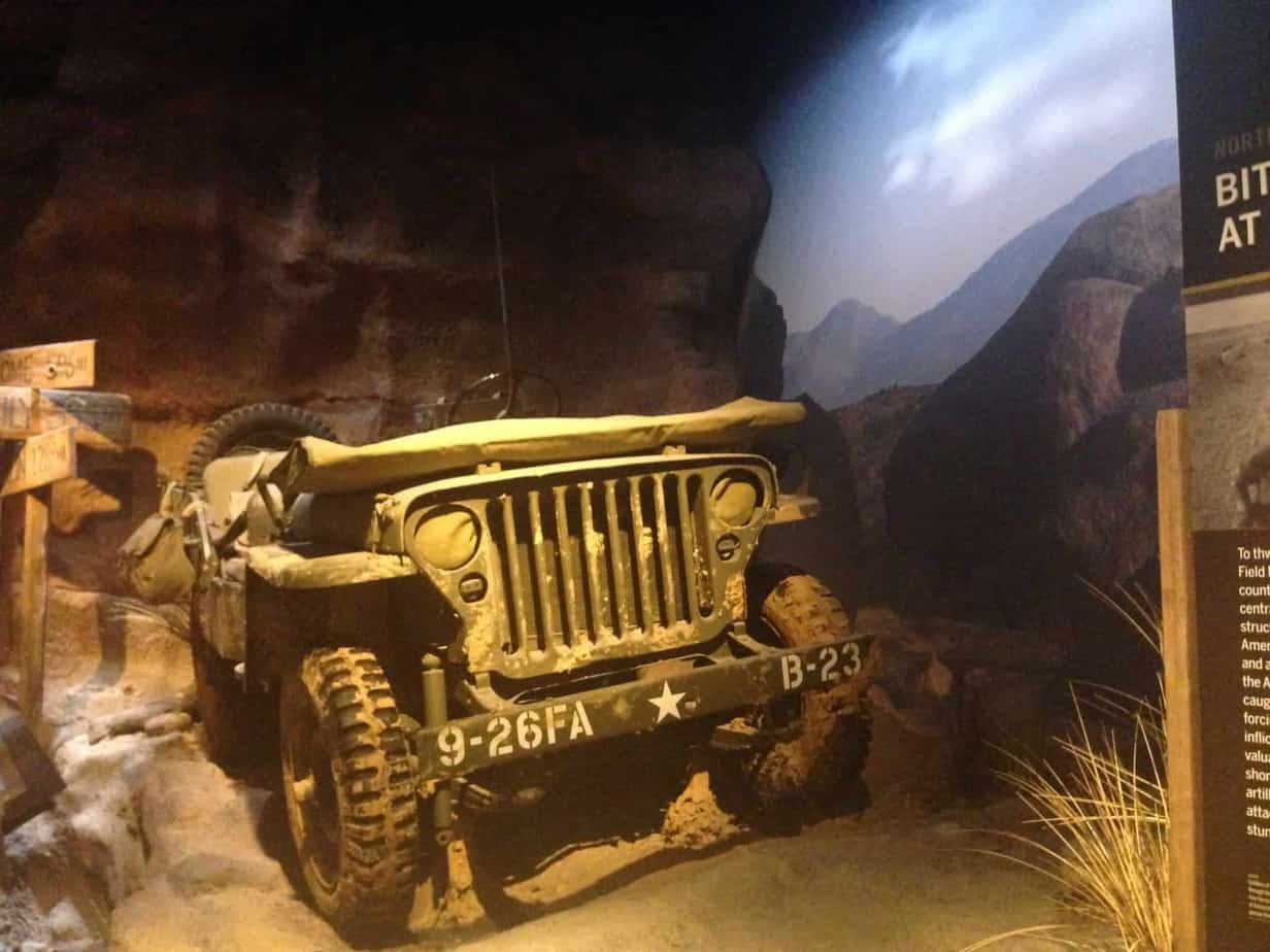new orleans world war ii museum jeep