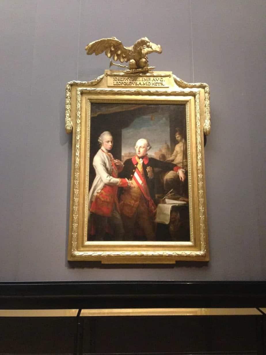 Kunsthistoriches Museum Vienna joseph ii