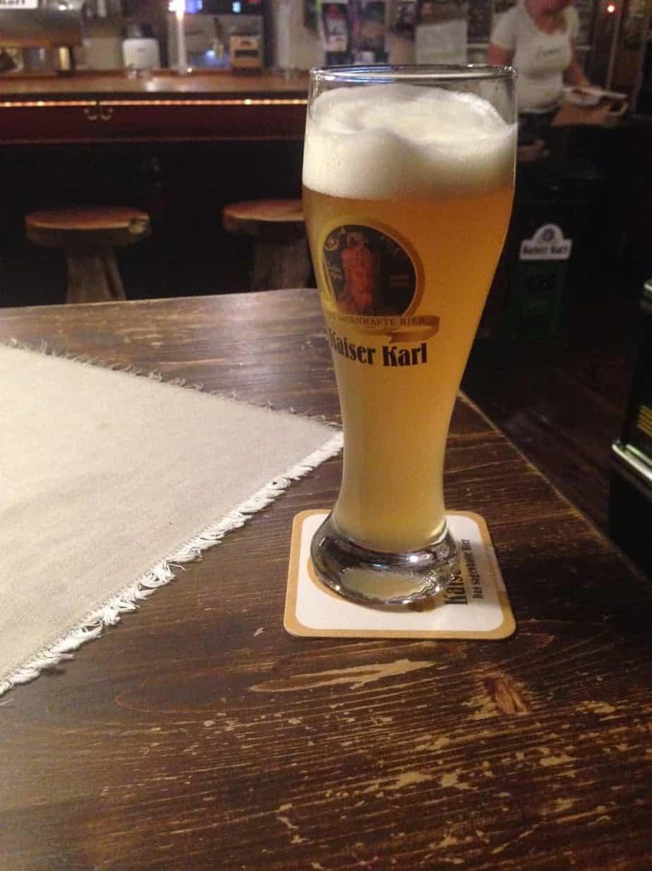 kaiser karl beer Gasthaus Zwettlers