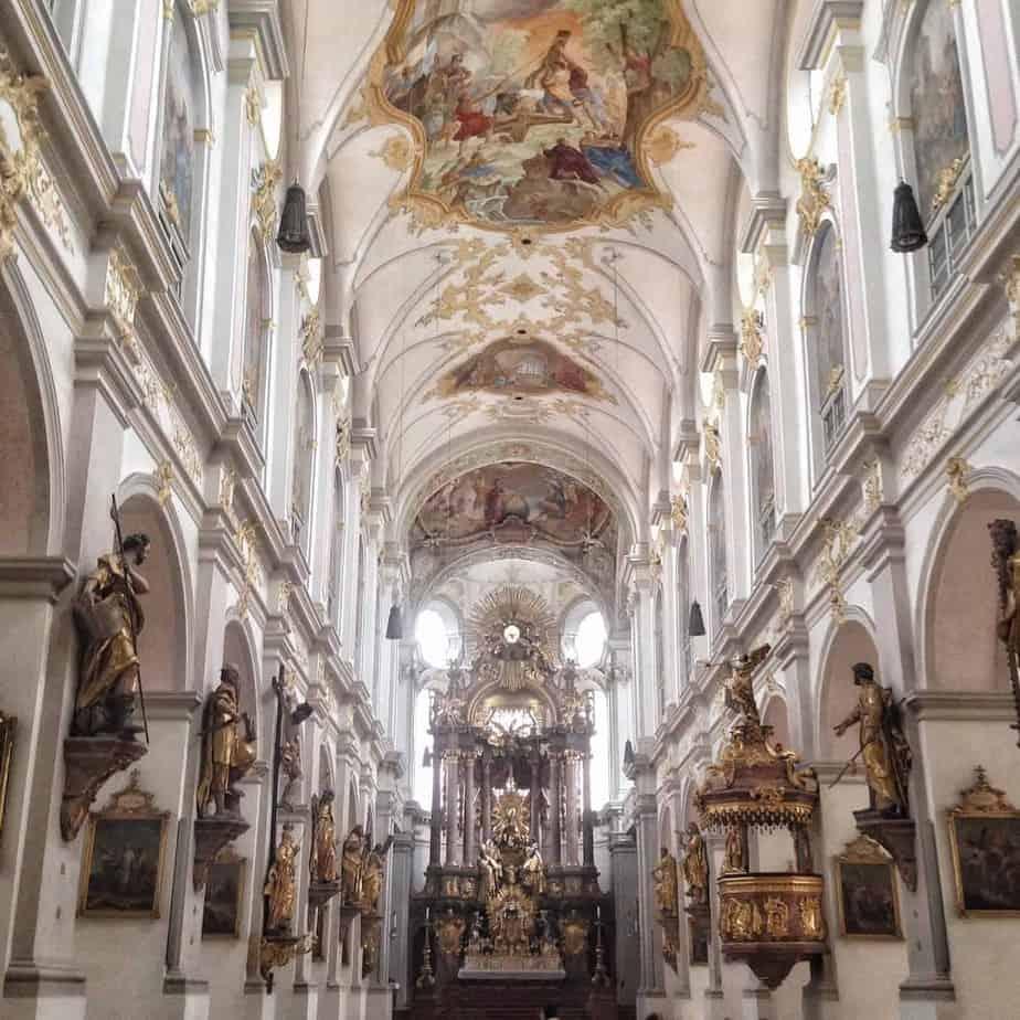 24 hours in Munich st michael's church