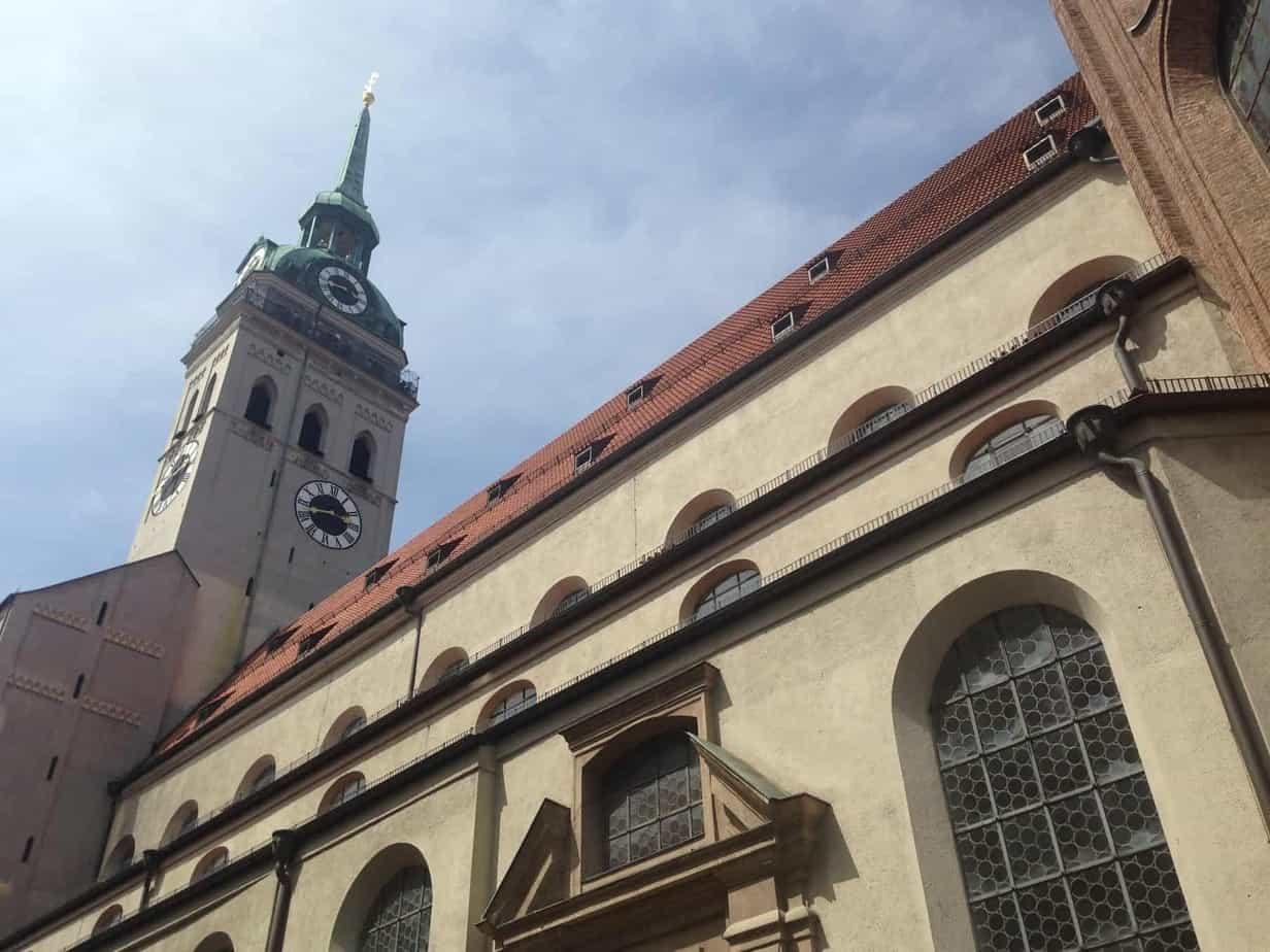 24 hours in Munich st peter's church