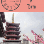1 Perfect One Day in Tokyo Itinerary 1