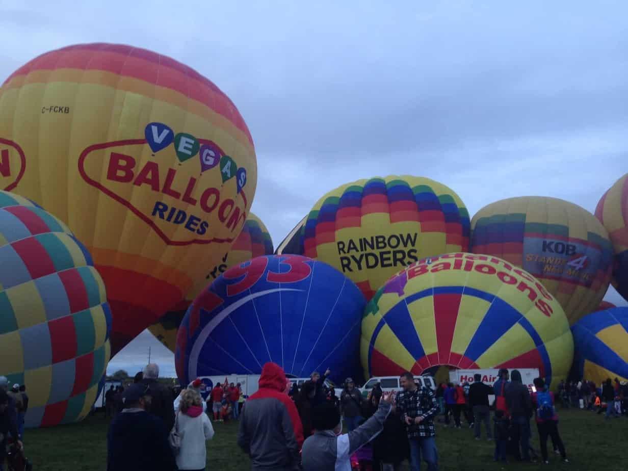 Balloon Fiesta Albuquerque hot air balloons