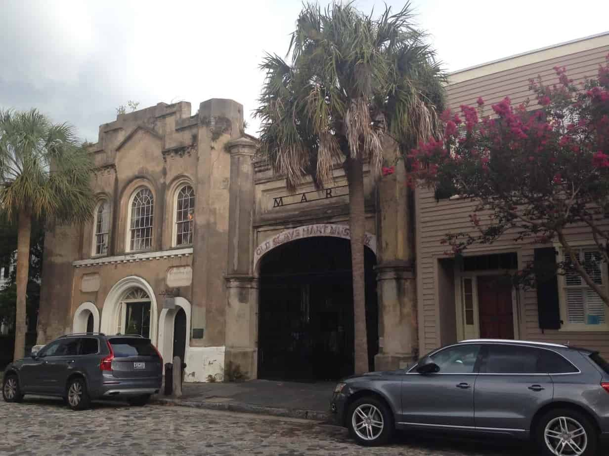 24 hours in Charleston old slave mart