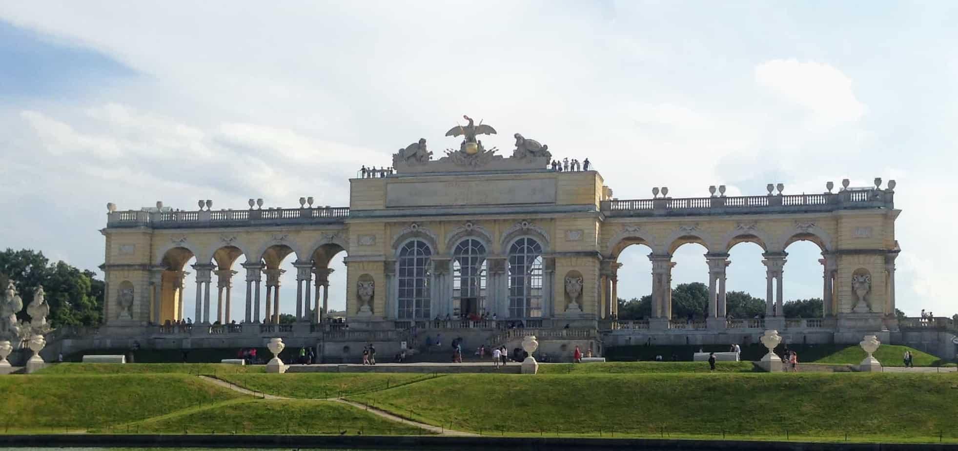 Schonnbrunn Palace gloriette