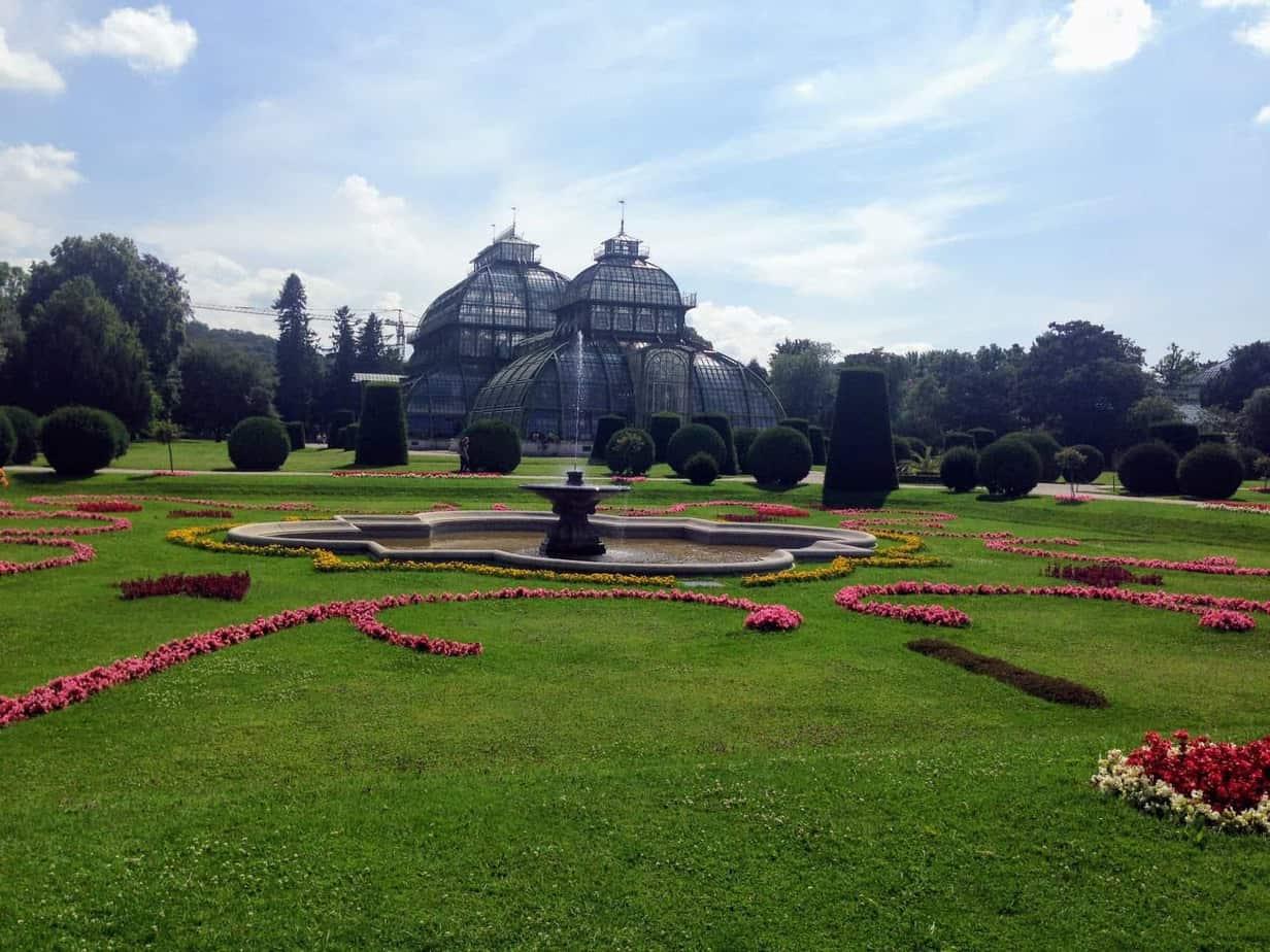 Schonnbrunn Palace palm house