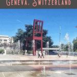 One Day in Geneva Itinerary 2