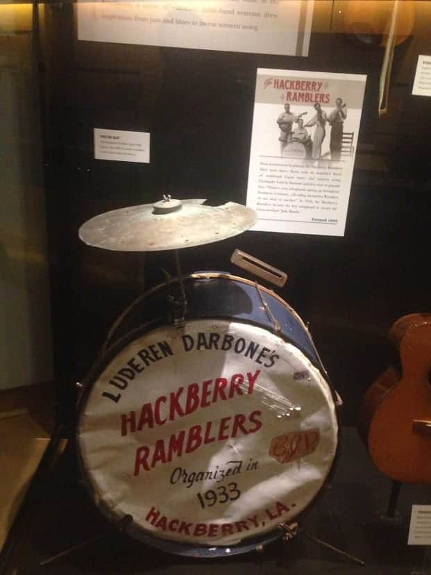 Hackberry ramblers Country Music Hall of Fame and Museum