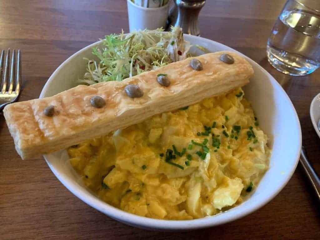 Lafayette scrambled eggs truffle