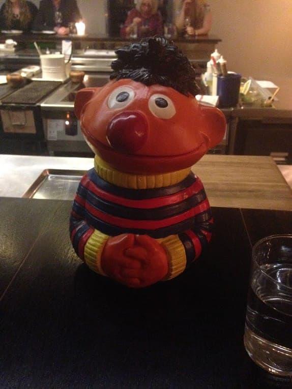 Ernie cookie jar catbird seat nashville