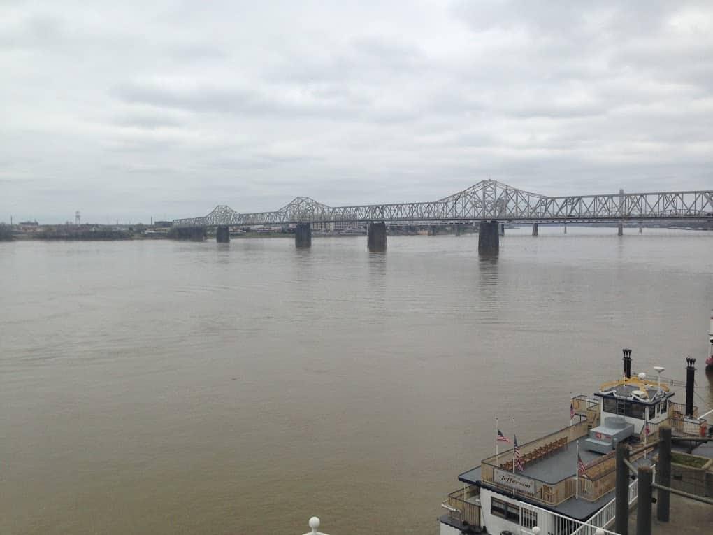 Ohio river Louisville Kentucky