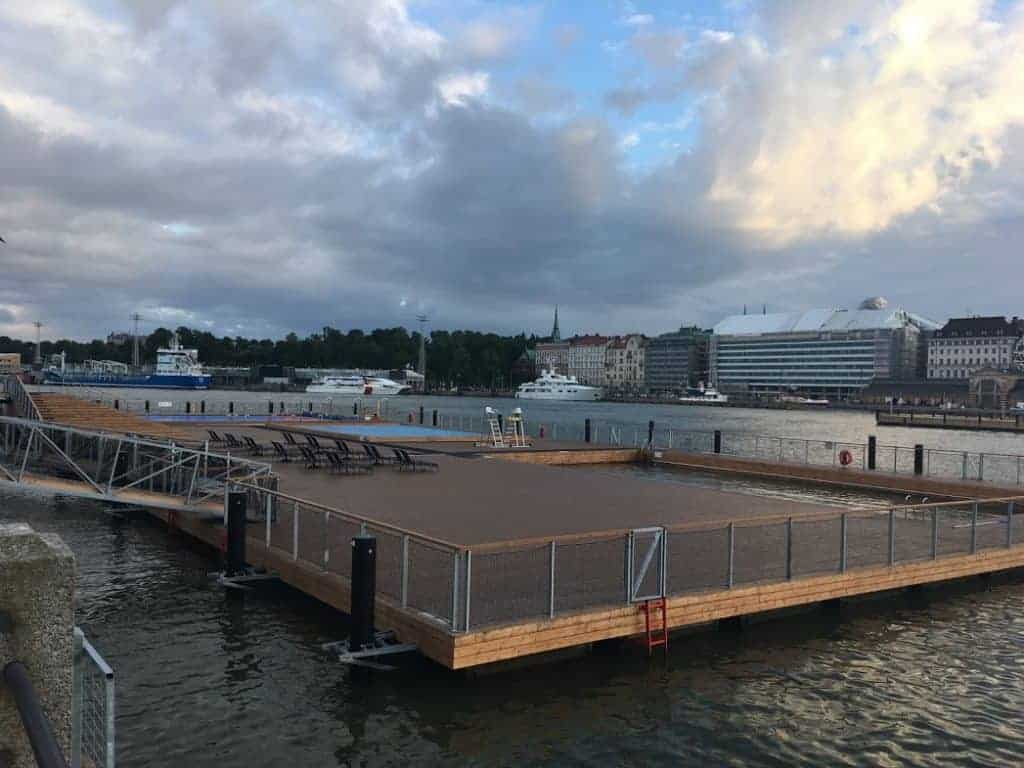Allas sea pool view helsinki