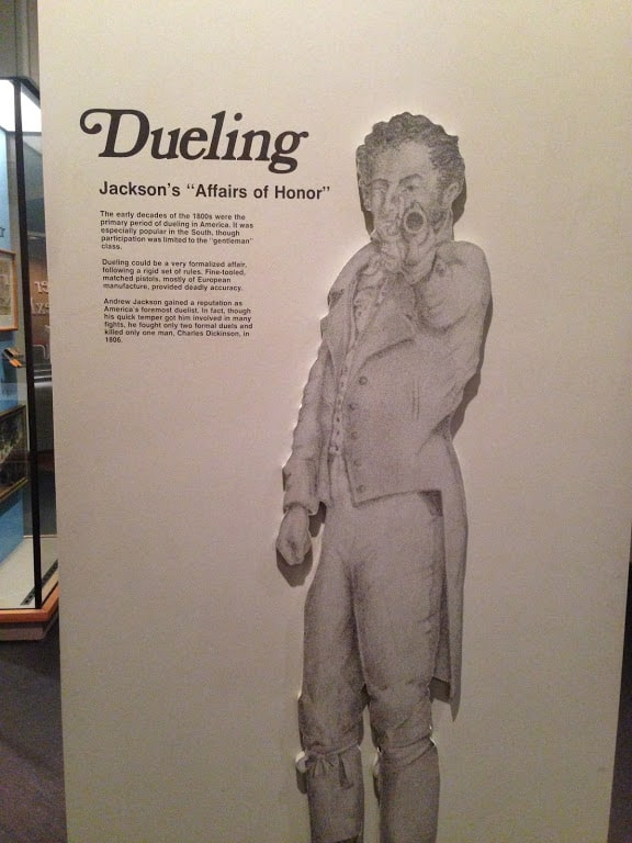 Andrew Jackson Nashville State Museum