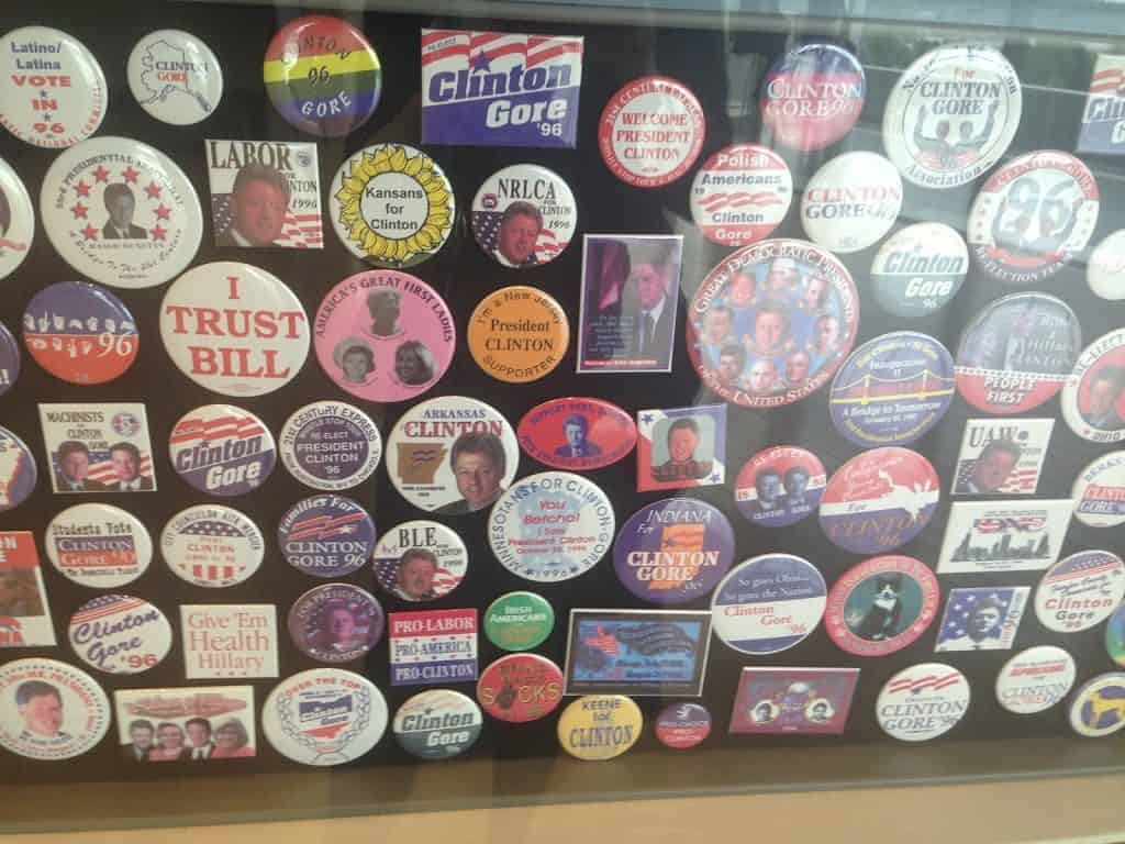 Clinton Buttons