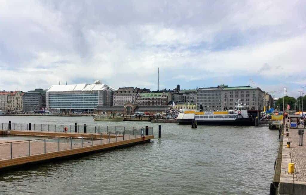 Helsinki Harbor 24 hours in helsinki