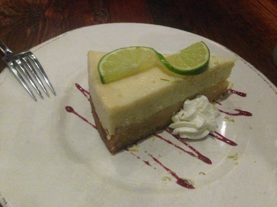 Key lime pie samantha's little rock