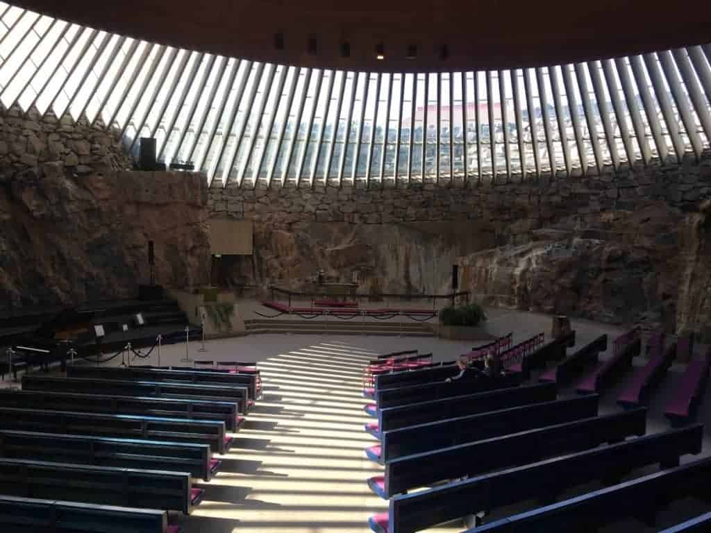 Temppeliaukion acoustics