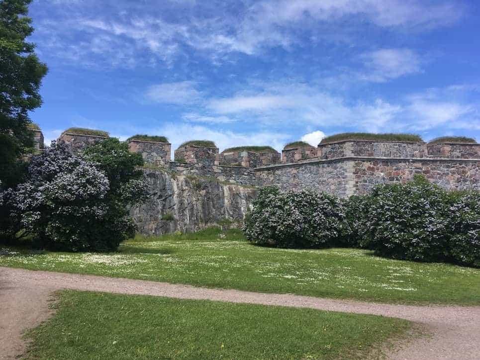 Suomenlinna Fortress Wall helsinki itinerary