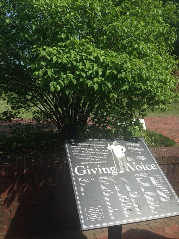 Giving Voice Memorial