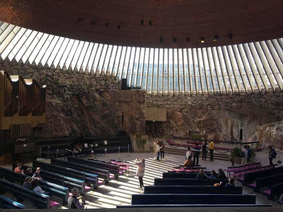 rock church interior