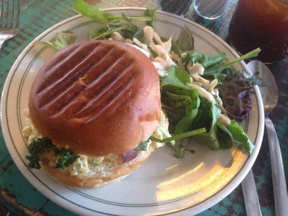 Root Cafe Egg Salad Sandwich