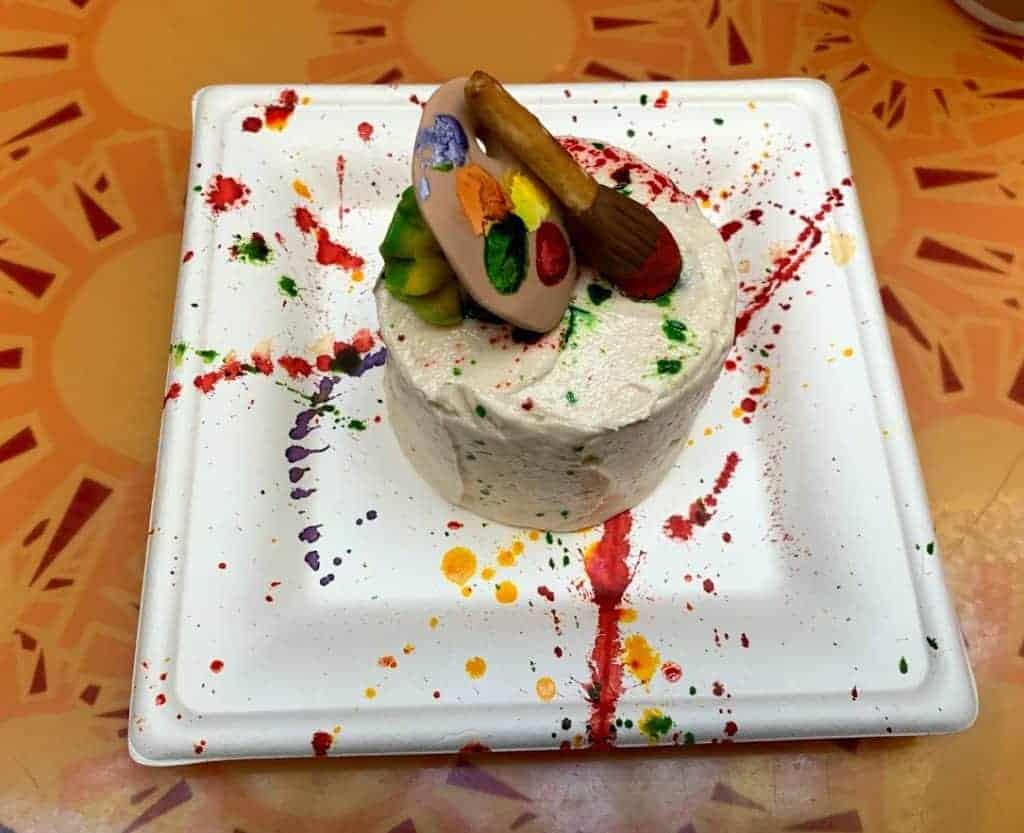epcot festival of the arts cake
