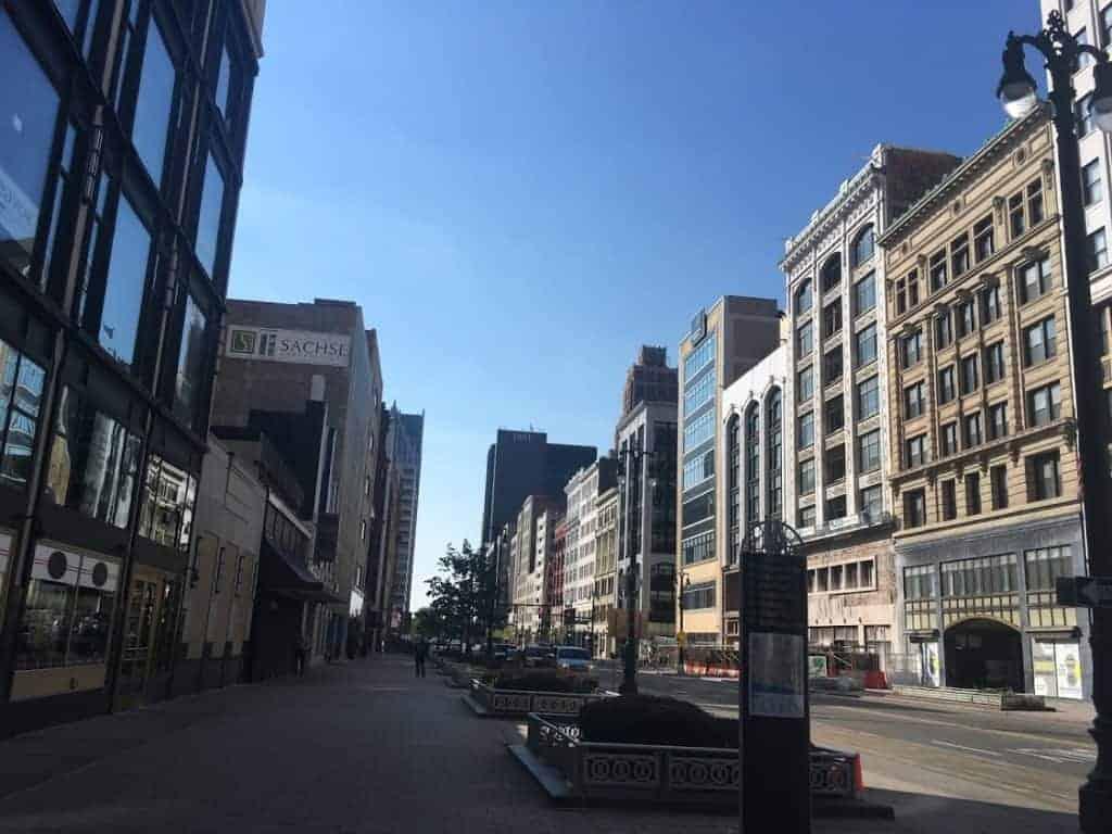 downtown detroit 24 hours in detroit
