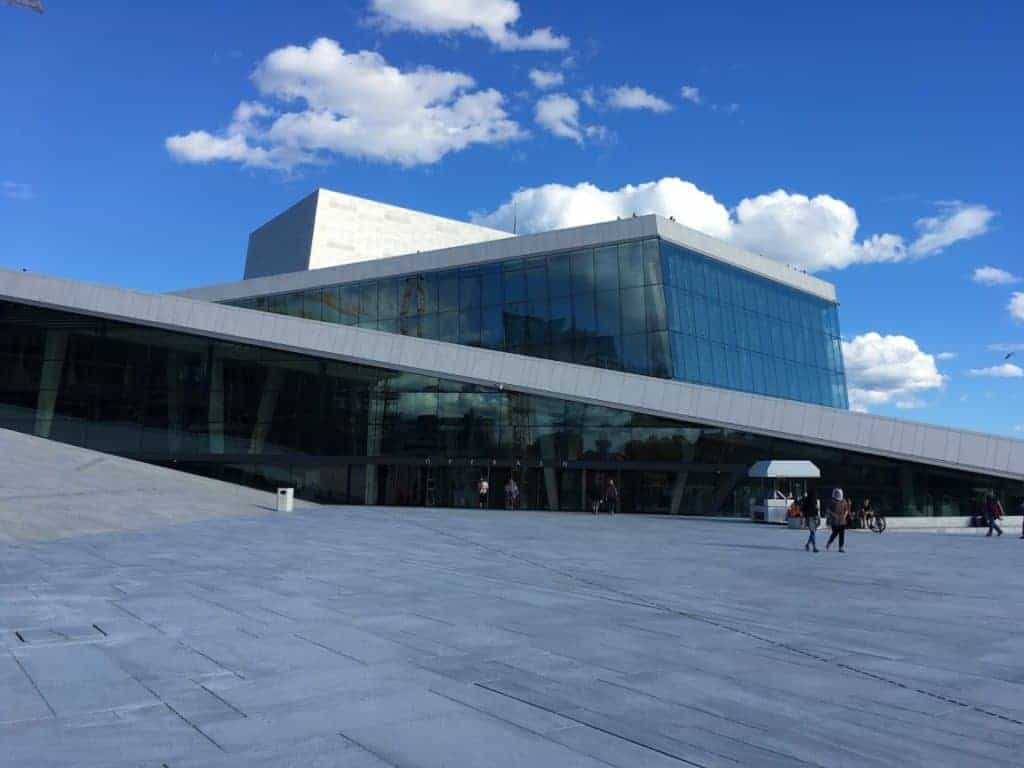 Oslo Opera House 24 hours in oslo