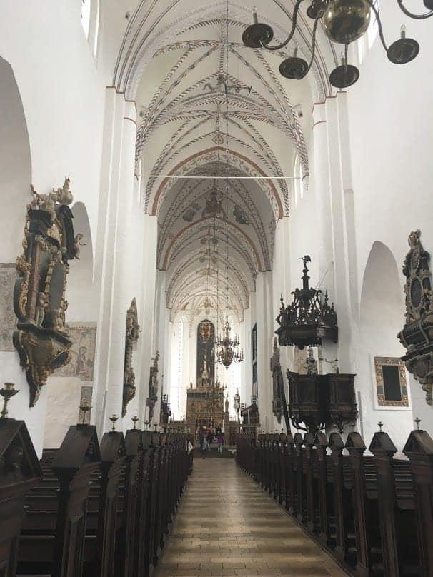 aarhus cathedral interior