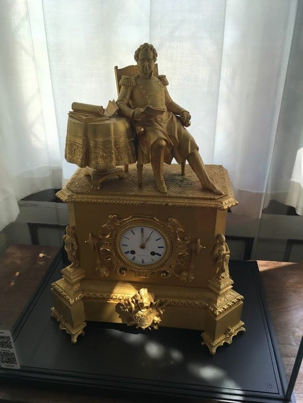 rosenborg castle clock