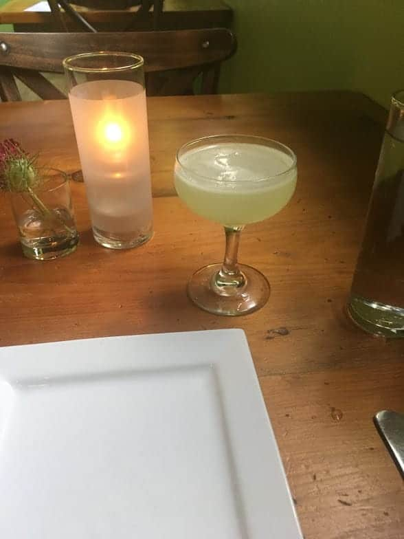 Cocktail chartreuse