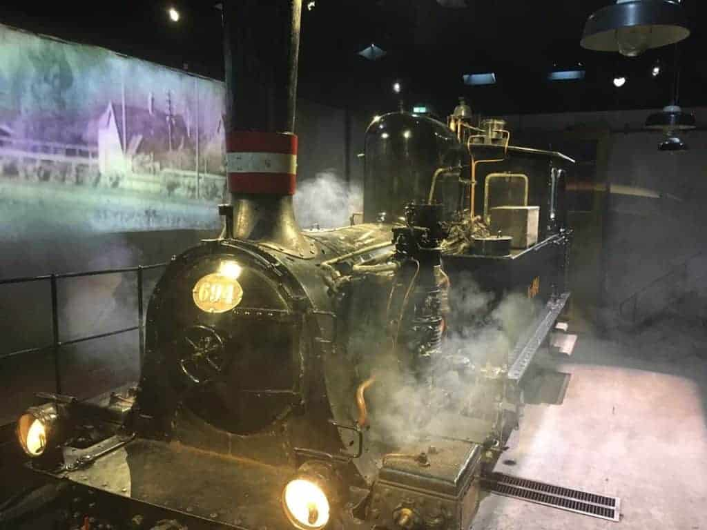 aarhus story den gamle by train