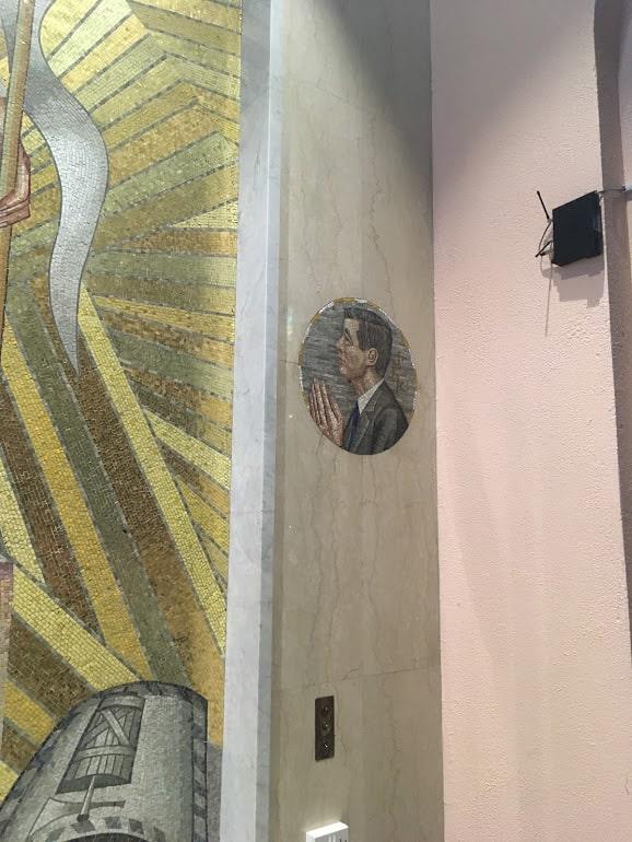 jfk mosaic