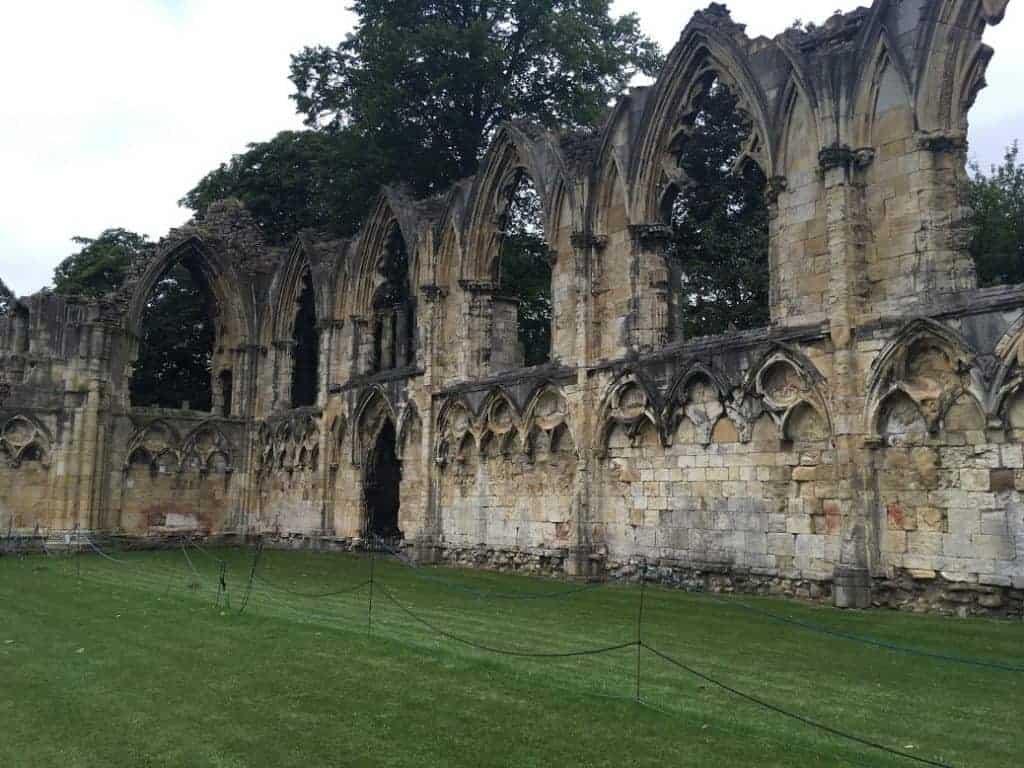 york medieval ruins