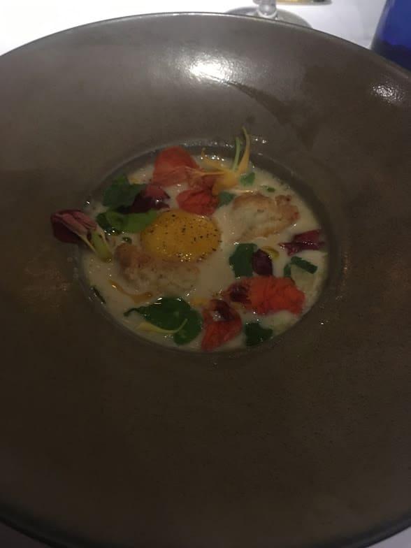 garbanzo bean soup egg