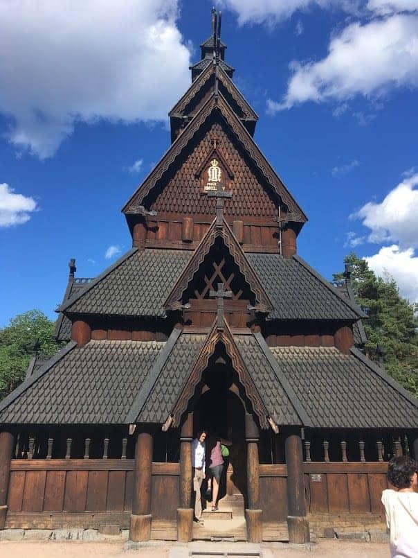 stave church bygdoy
