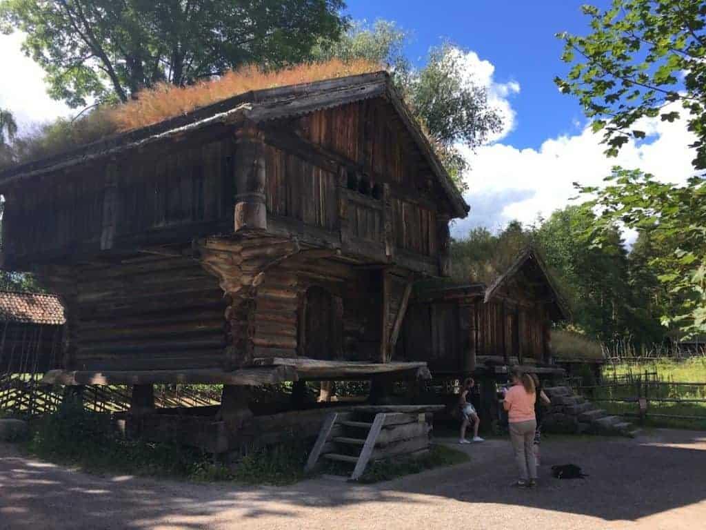 Norwegian farmhouses
