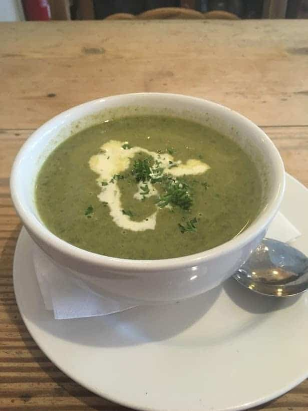 honey pot watercress soup
