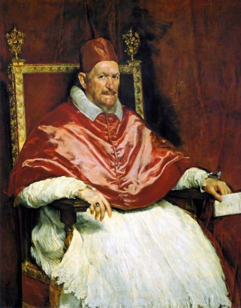 Galleria Doria Pamphilij Pope