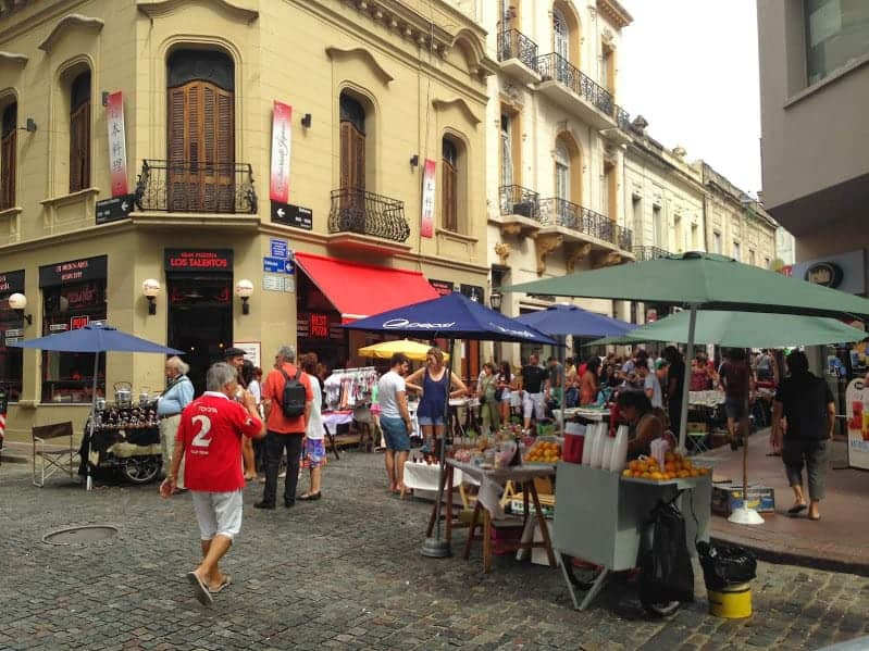 24 hours in Buenos Aires san telmo
