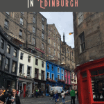 A Perfect One Day in Edinburgh Itinerary 1